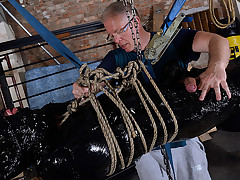 The Most Elaborate Handjob For Twink Slave Xavier! - Xavier Sibley & Sebastian Kane