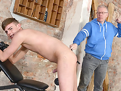 The Master Gets Back To Spanking! - Cameron James And Sebastian Kane