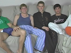 Five Boy Cock up And Suck Session - Blair, Jayce, Sean, Tyler and Tyler