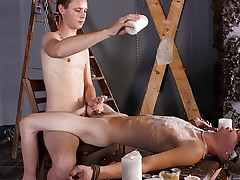 Splashed With Blow up expand on And Cum - Luca Finn And Aiden Jason